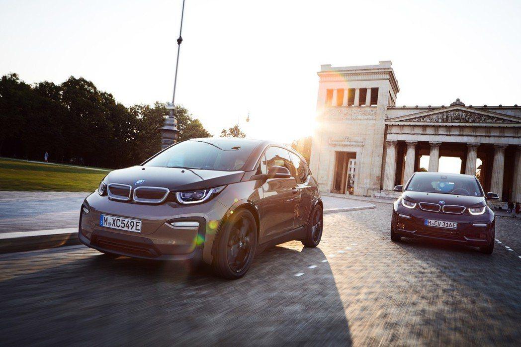 圖為BMW i3。 摘自BMW