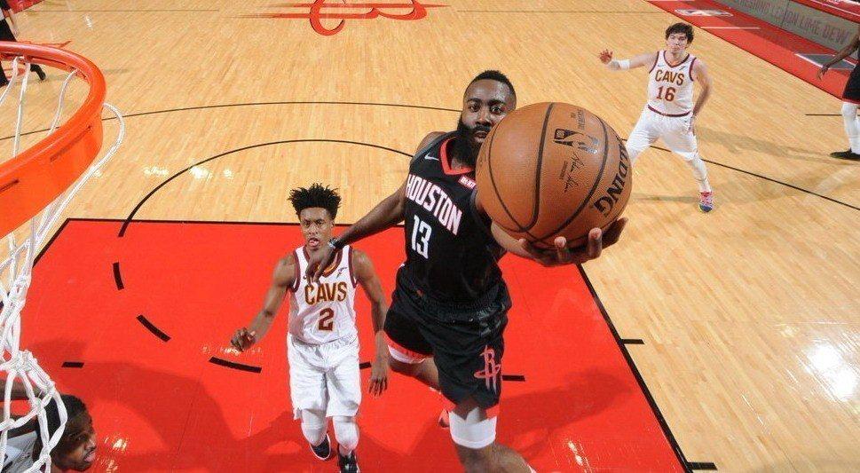 哈登。 NBA
