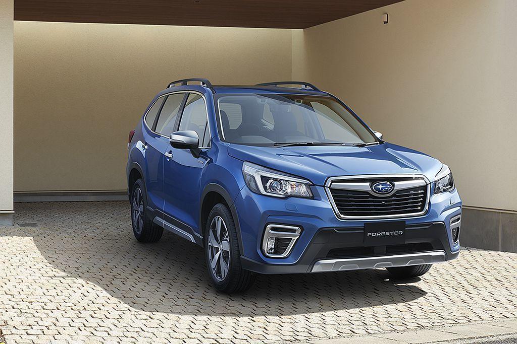 去年日本市場開放預購全新Subaru Forester時,就有多達40%買家選購...