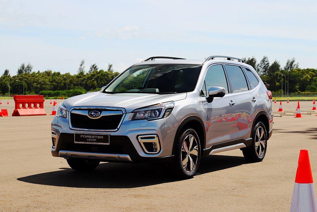 繼日本之後東南亞市場首發的Subaru Forester e-BOXER,台灣消...