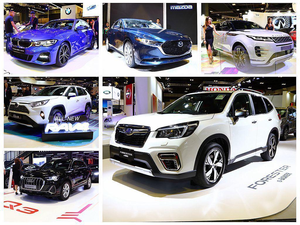 2019新加坡車展有許多亞洲首發新車,如Mazda3、Toyota RAV4、B...