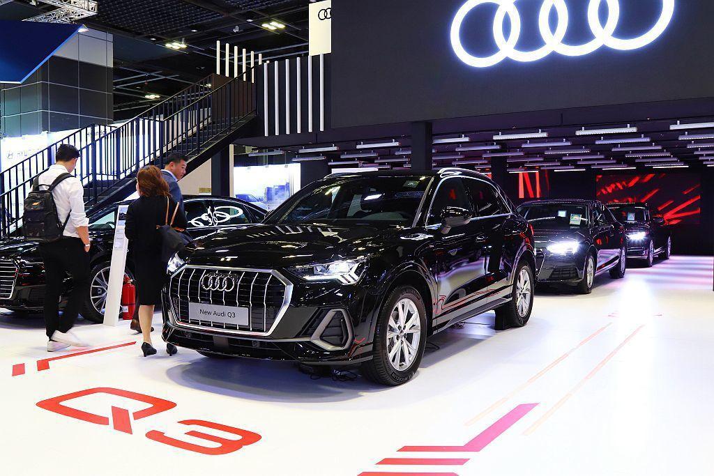 全新第二代Audi Q3都會休旅車,也是今年台灣豪華休旅的重要車款。 記者張振群...