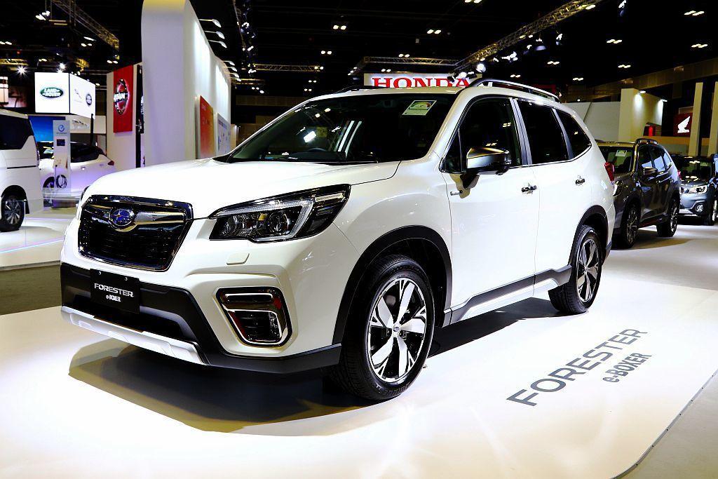 日本之後第二個國家開賣的Subaru Forester e-BOXER,擁有18.6km/L的平均油耗表現,台灣未來也會導入販售。 記者張振群/攝影