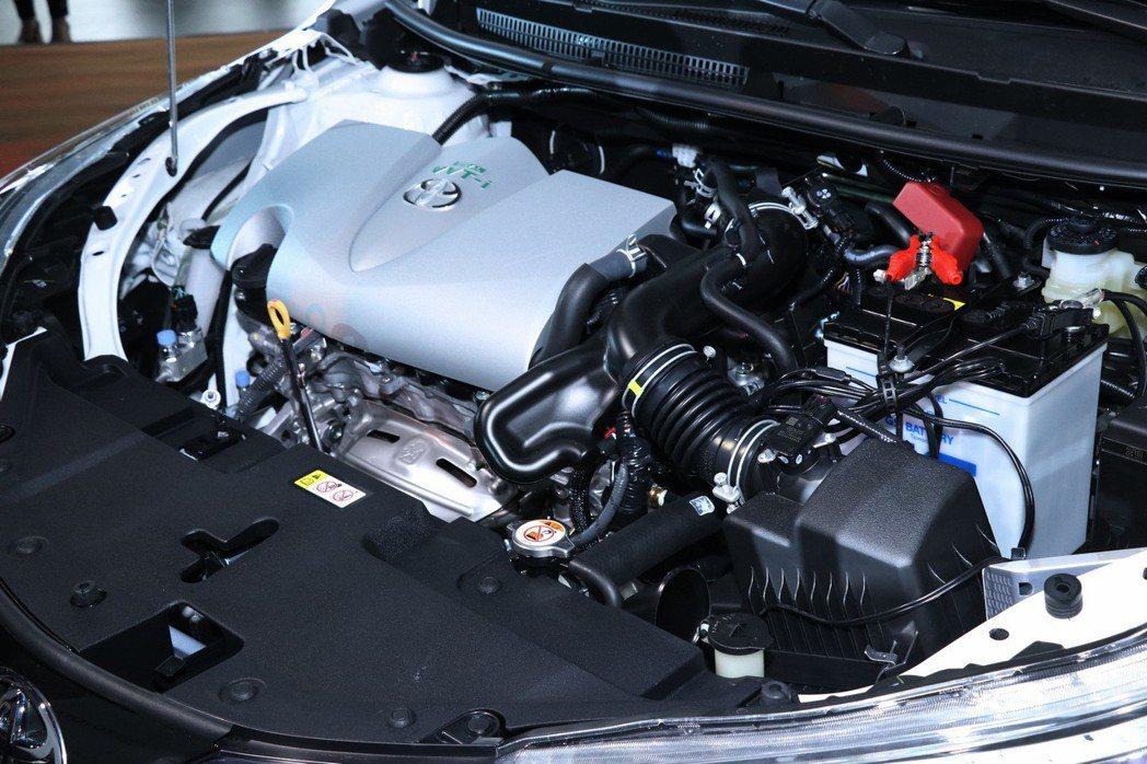採用了原廠代號2NR-FE2的1.5升直列四缸自然進氣引擎。 記者陳威任/攝影
