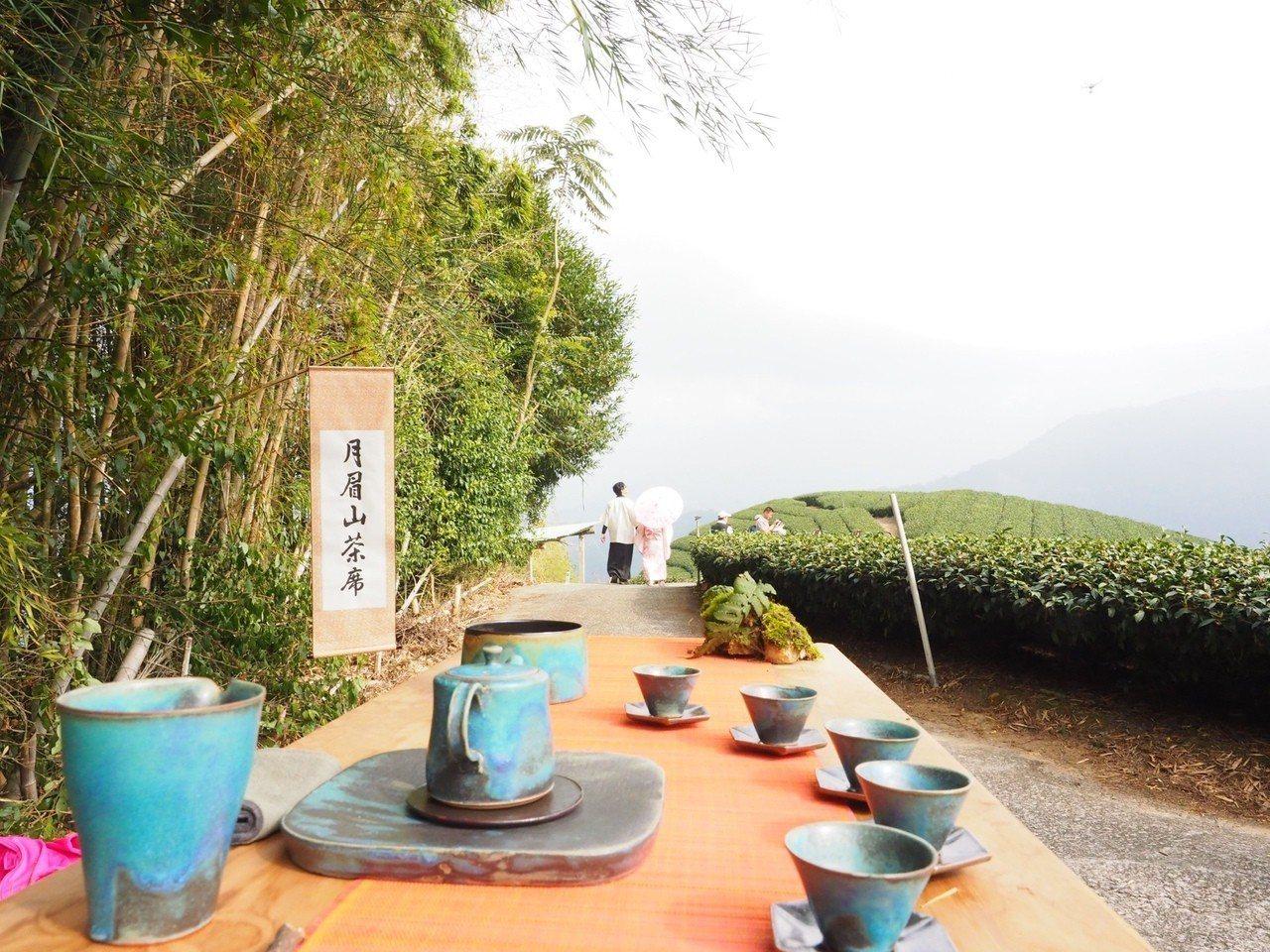 品嚐阿里山優質高山茶迎接新年。圖/阿里山國家風景區管理處提供