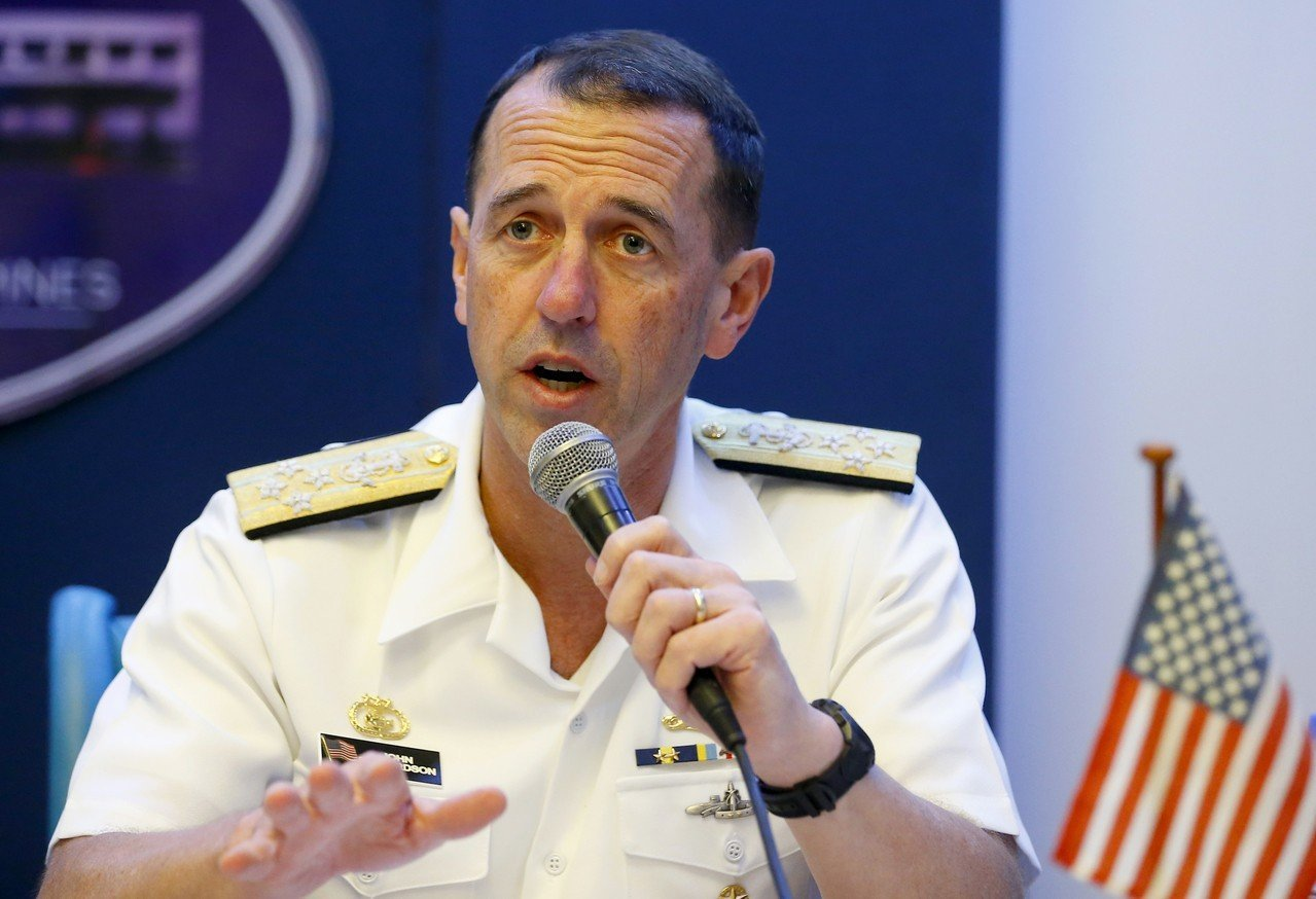 美國海軍軍令部長李察遜即將訪問北京及南京。 美聯社