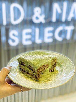 David & Maisie Select抹茶提拉米蘇,售價190元。 記者張芳...