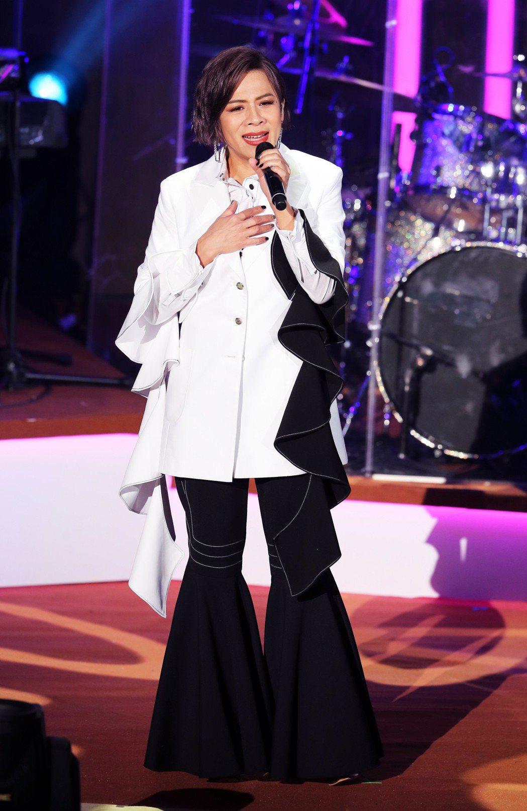 江美琪首度舉辦大型個唱「我愛江美琪」。記者徐兆玄/攝影