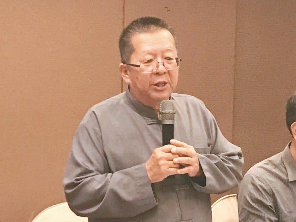 走過40年水利人生,水利署九河局長顏嚴光即將在15日退休。 記者王燕華/攝影
