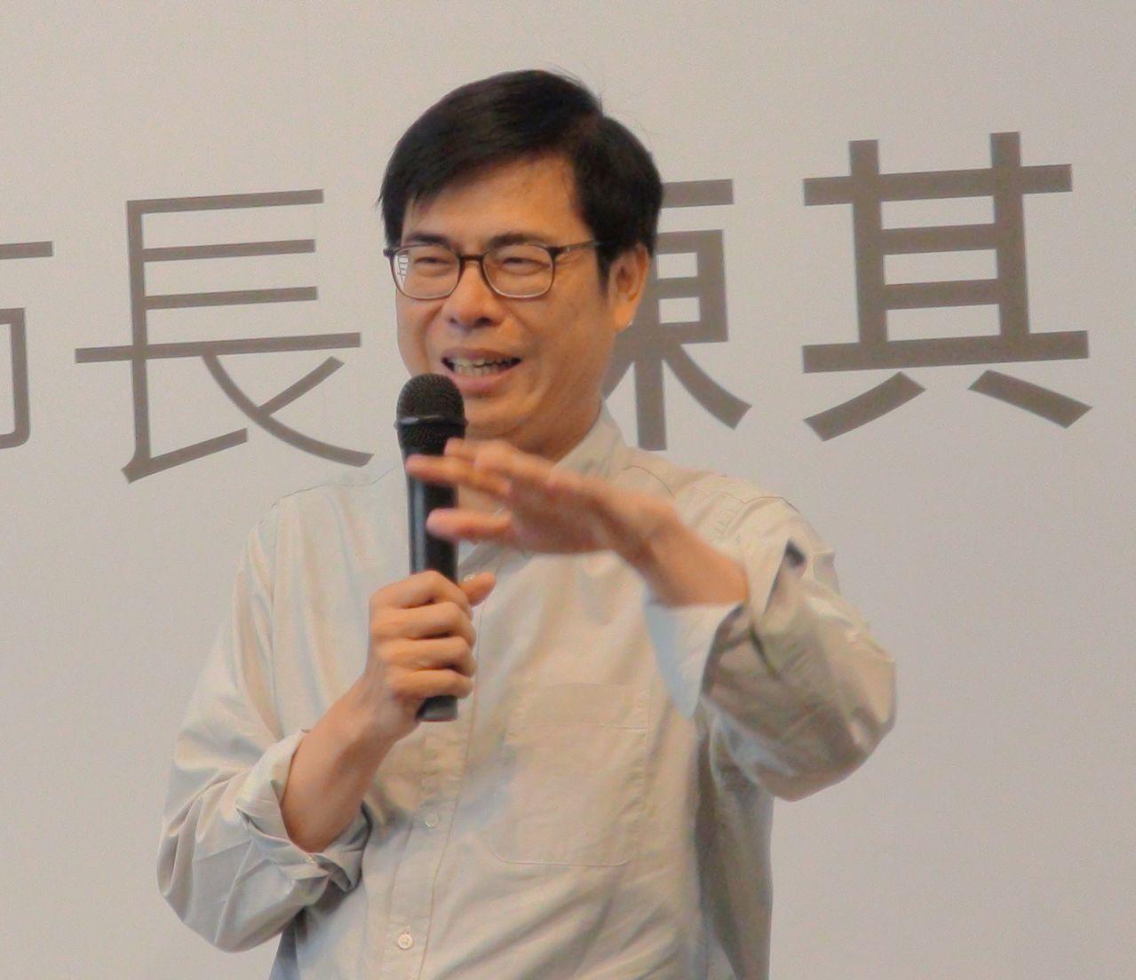 前立委陳其邁接任行政院副院長。圖/聯合報系資料照片