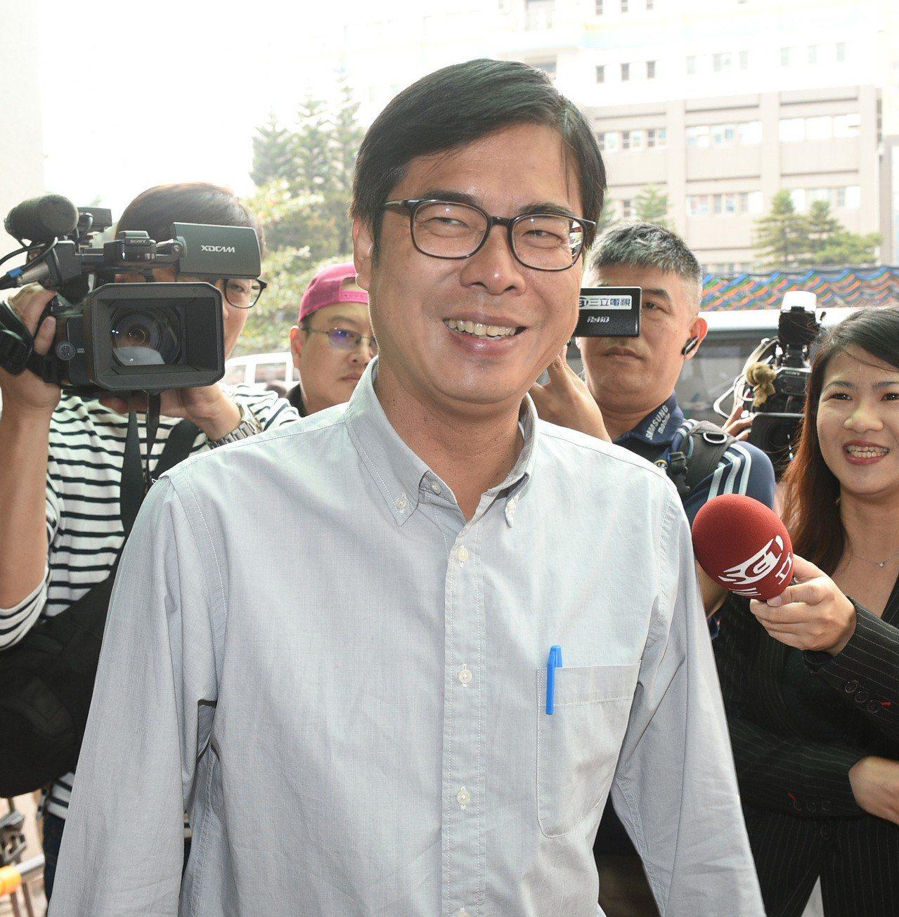 前立委陳其邁雖競選高市長失利,仍持續深耕高雄,今天成立高雄智庫。圖/聯合報資料照