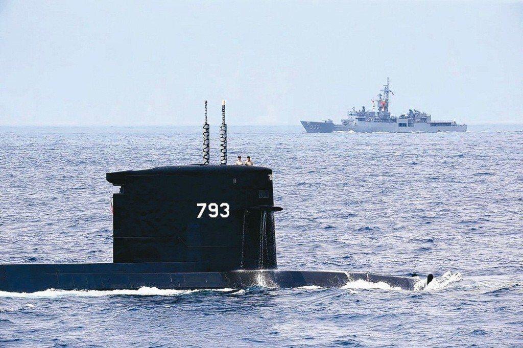 潛艦國造。 圖/聯合報系資料照片