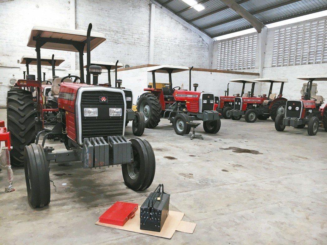 農業機械需求旺