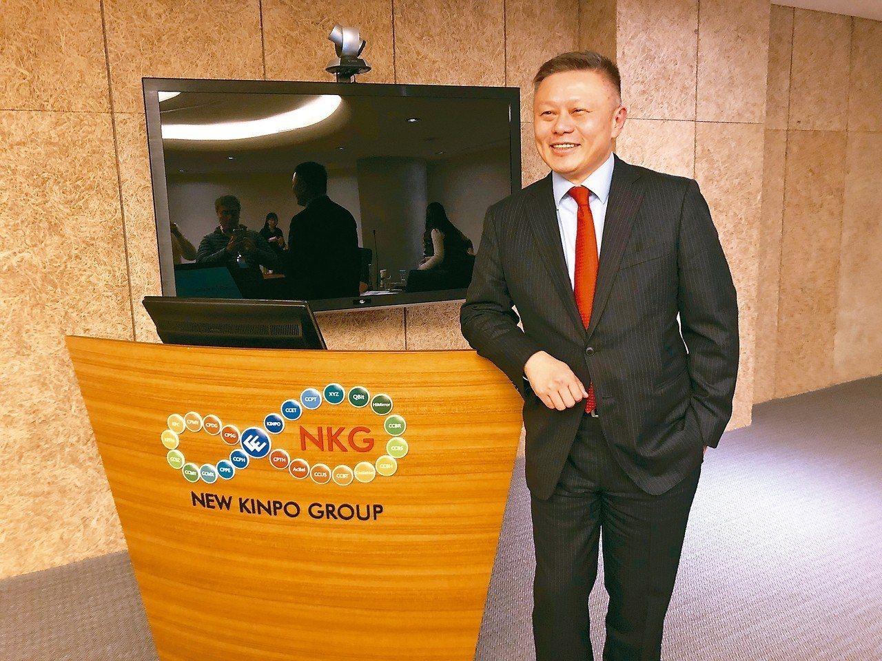 金寶總經理沈軾榮說,公司在東南亞深耕很久,提早布局拿到很好的成長機會。 記者吳凱...