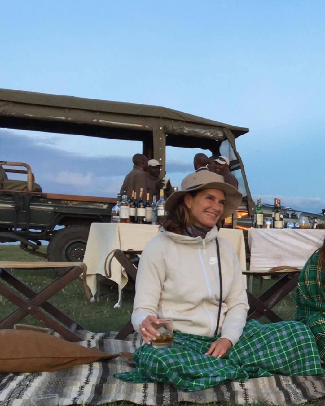 布魯克雪德絲年過半百,生活愜意自在。圖/摘自Instagram