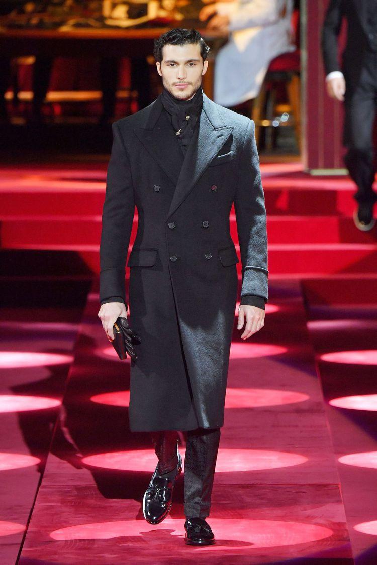 Dolce & Gabbana發表2019秋冬男裝系列,延續過往的招牌風格。圖/...