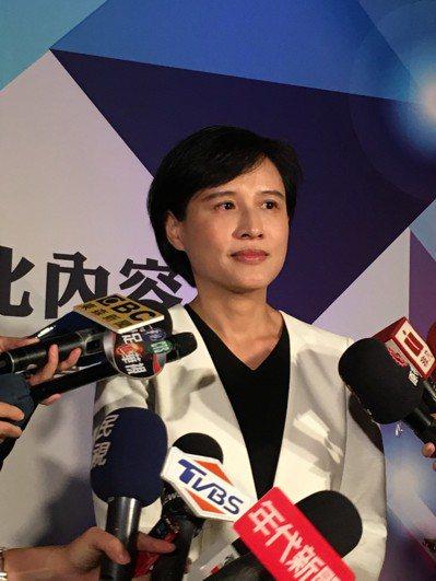 文化部長鄭麗君確定辭職。記者何定照/攝影