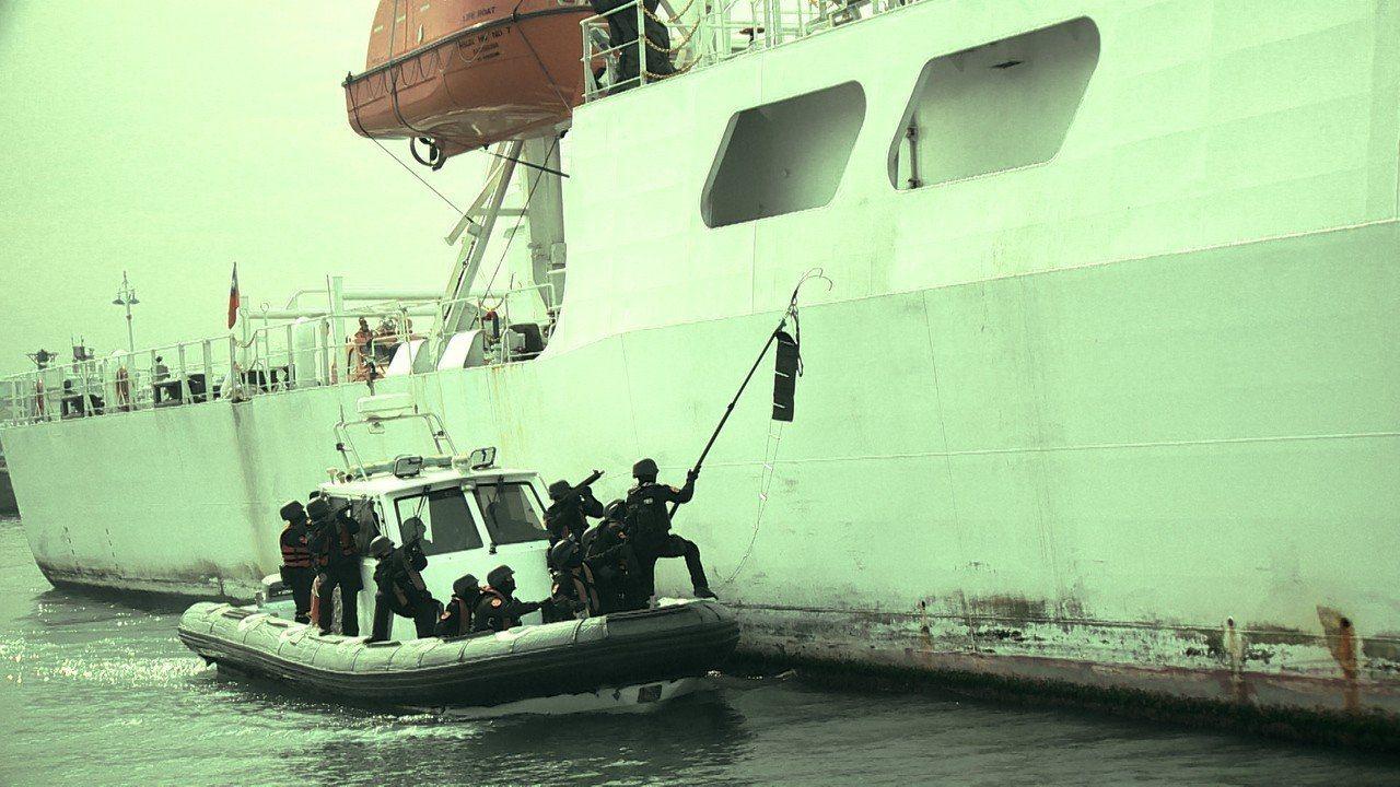 海巡特勤隊主要任務為海上反恐。圖/聯合報系資料照
