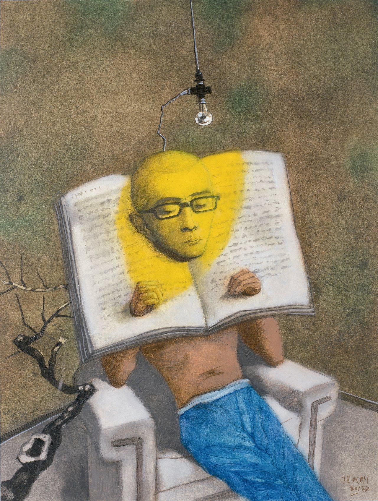 台北當代藝術博覽會即將舉行,圖為香港Pace Gallery展出作。圖/台北當代...