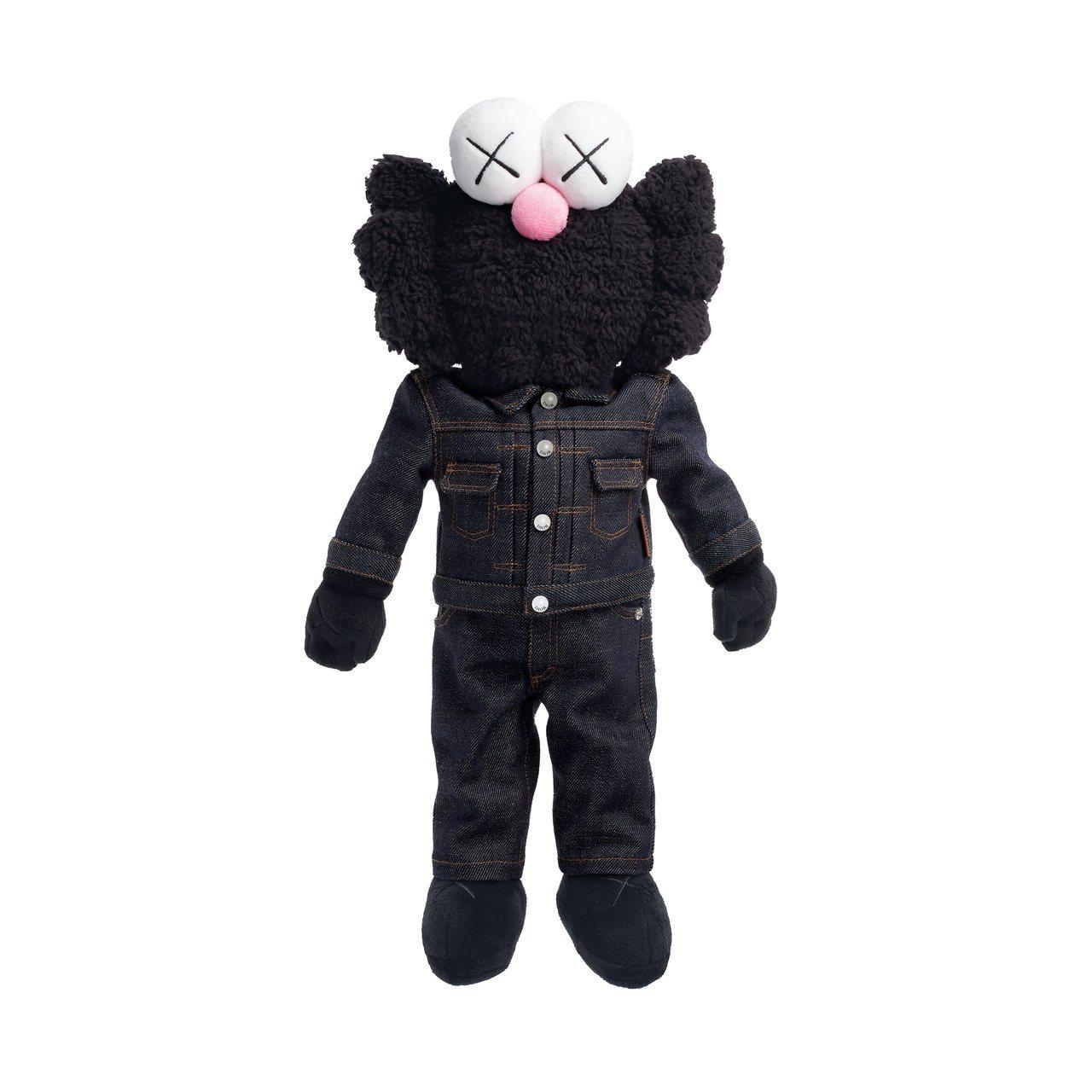 DIOR X KAWS合作玩偶的黑色版本。圖/DIOR提供