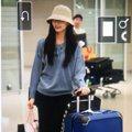 周子瑜機場時尚帶旺行李箱 「台灣本土品牌」粉超嗨