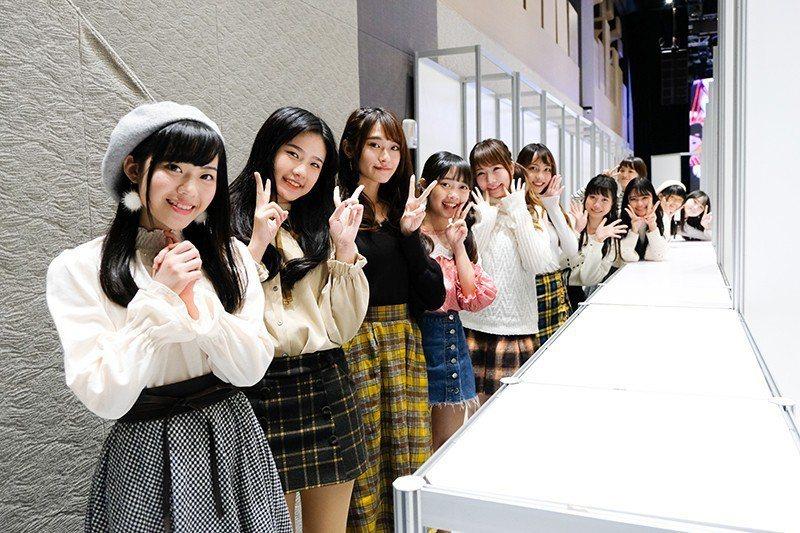 AKB48 Team TP分成3組舉辦握手會。圖/好言娛樂提供