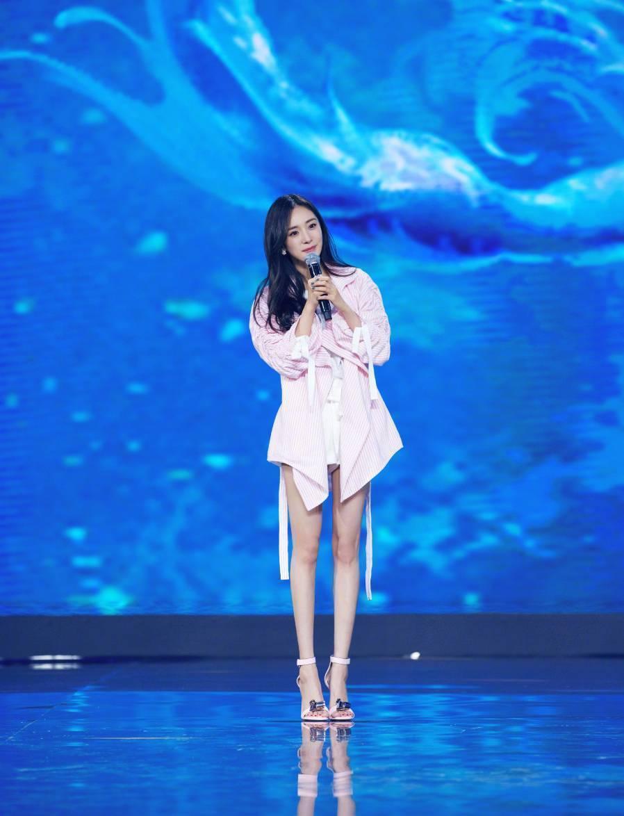 楊冪宣布將演出「九州斛珠夫人」。圖/摘自微博