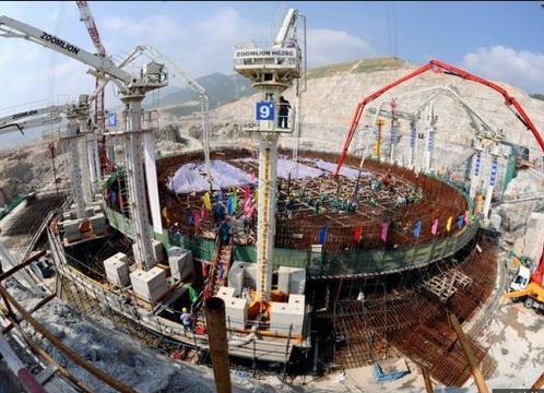 香港人擔心,四周都被大陸核電站圍繞,會不會「核爆一聲除舊歲」? 圖/取自e-zo...