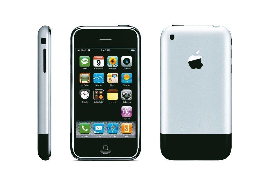 2007年蘋果iPhone問世。 紅點/提供