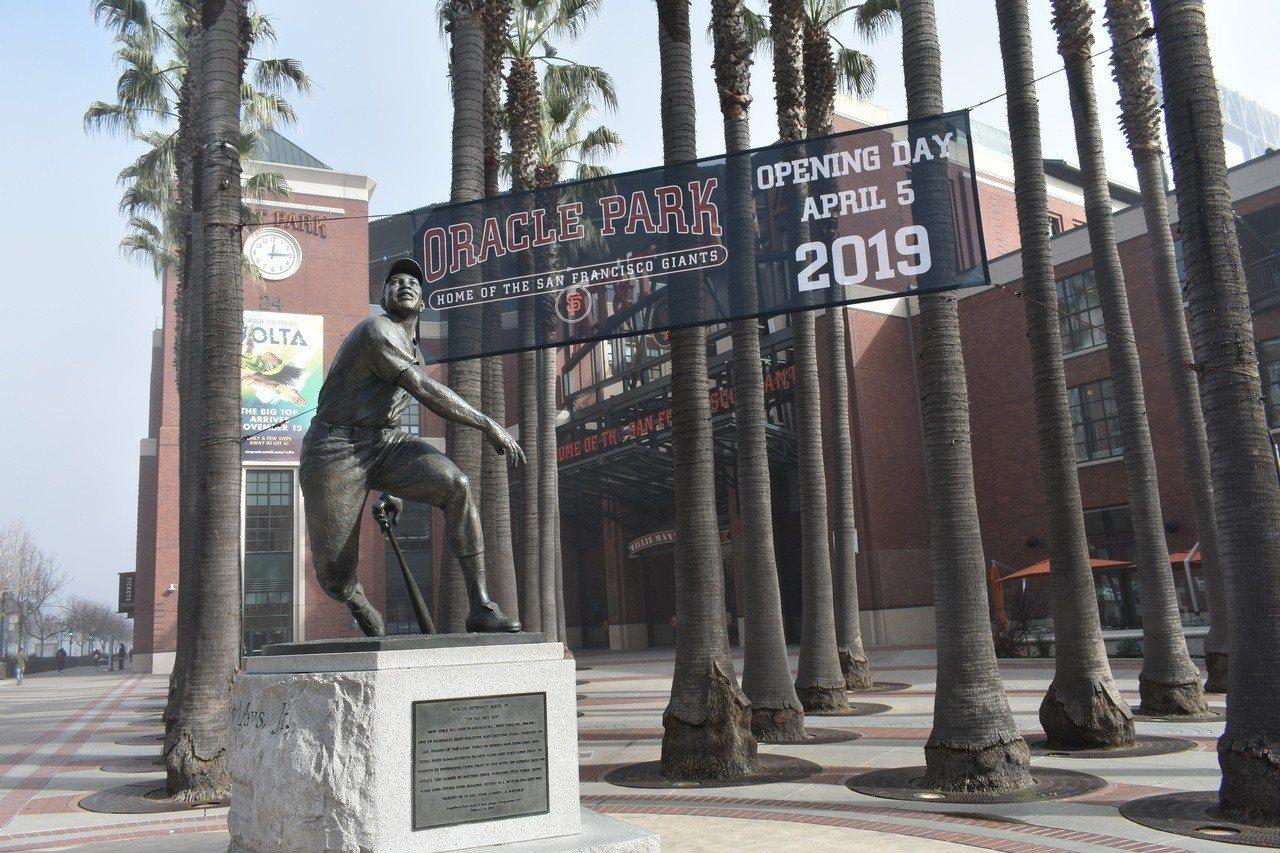 甲骨文公司取得舊金山巨人隊主場未來20年冠名權。 記者黃少華/攝影
