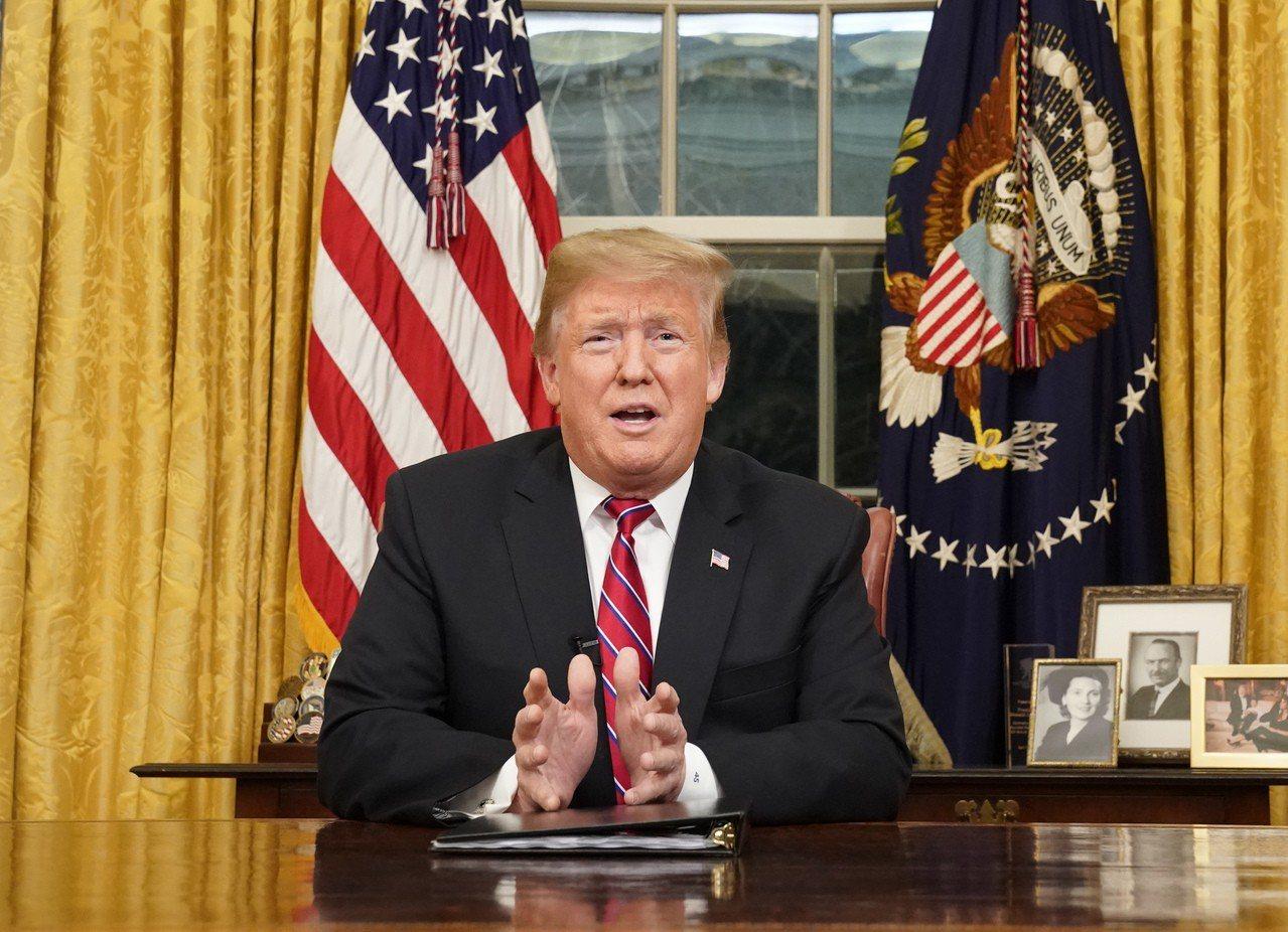 川普推文再為建邊界圍牆辯護,稱可阻止罪犯進入美國 美聯社