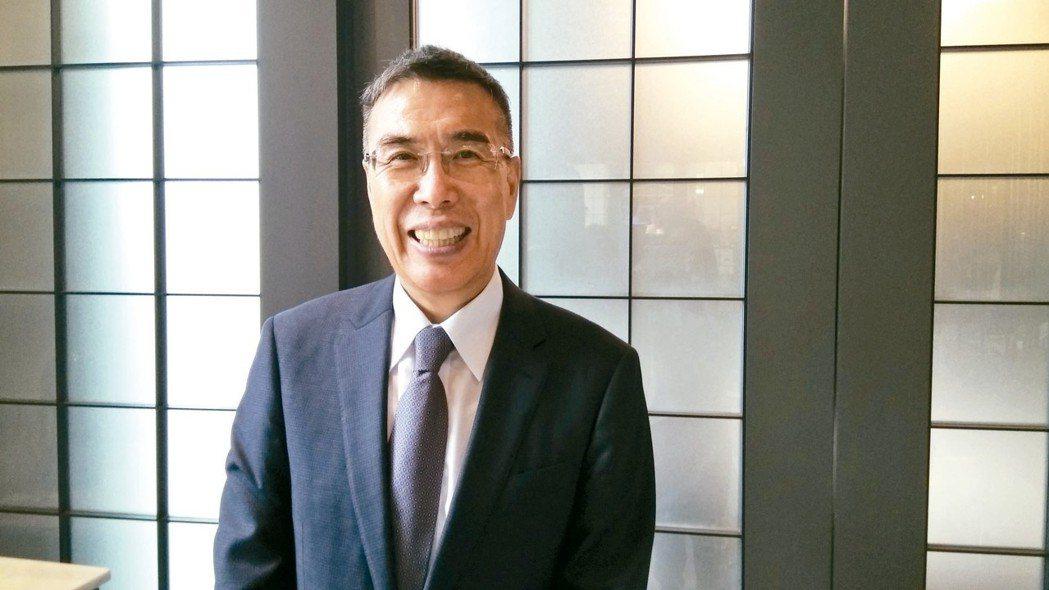 富邦媒董事長林啟峰。 報系資料照