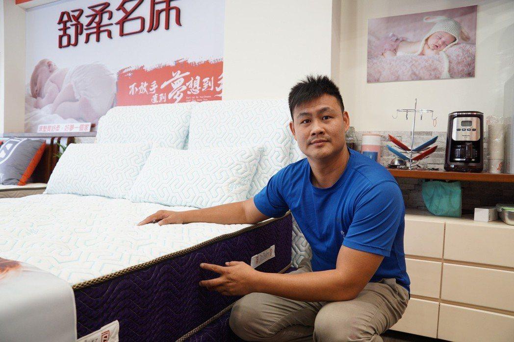 舒柔名床執行長郭政齊表示,儘管這些材料成本相對高昂,但舒柔名床的產品絕對對得起消...