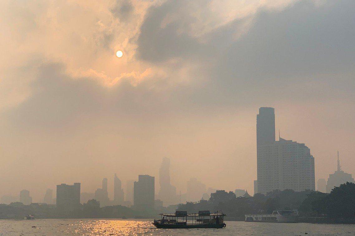 圖為1月14日的曼谷。 圖/路透社