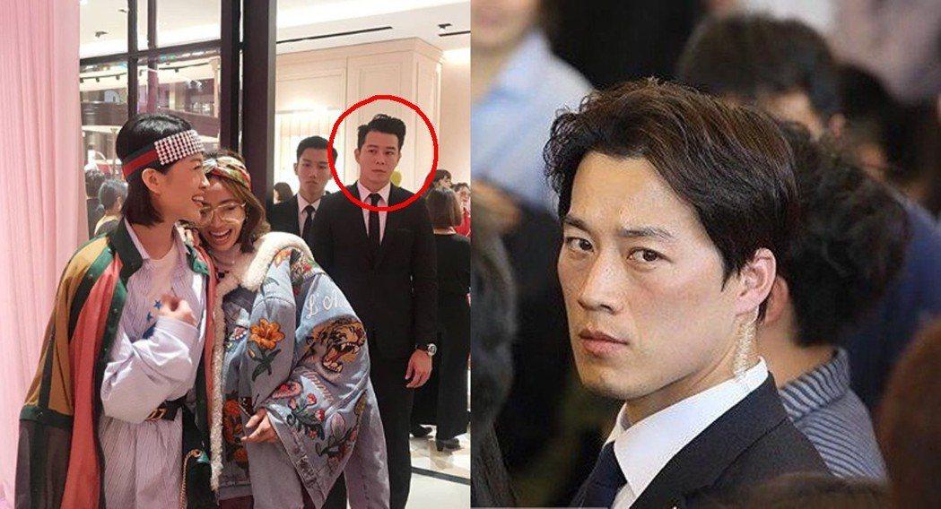 左:蔡依林保標,右:南韓總統文在寅前隨扈崔英載。 圖片來源/Instagram@...