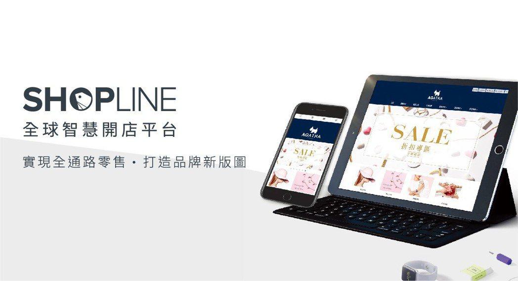 SHOPLINE聚焦打造「全球智慧開店平台」。 SHOPLINE /提供