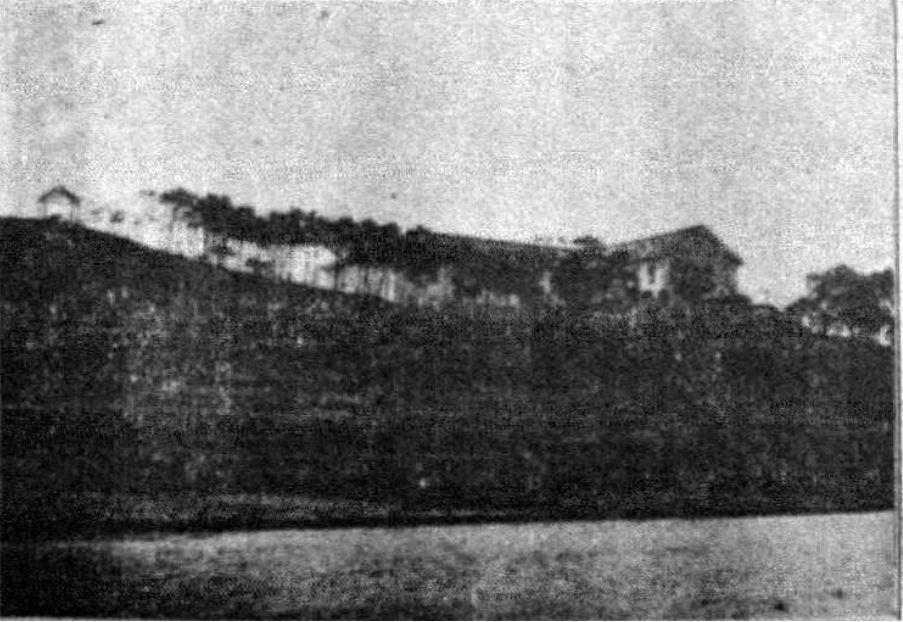 錫口養生院,攝於1921年。 圖/國家文化資料庫