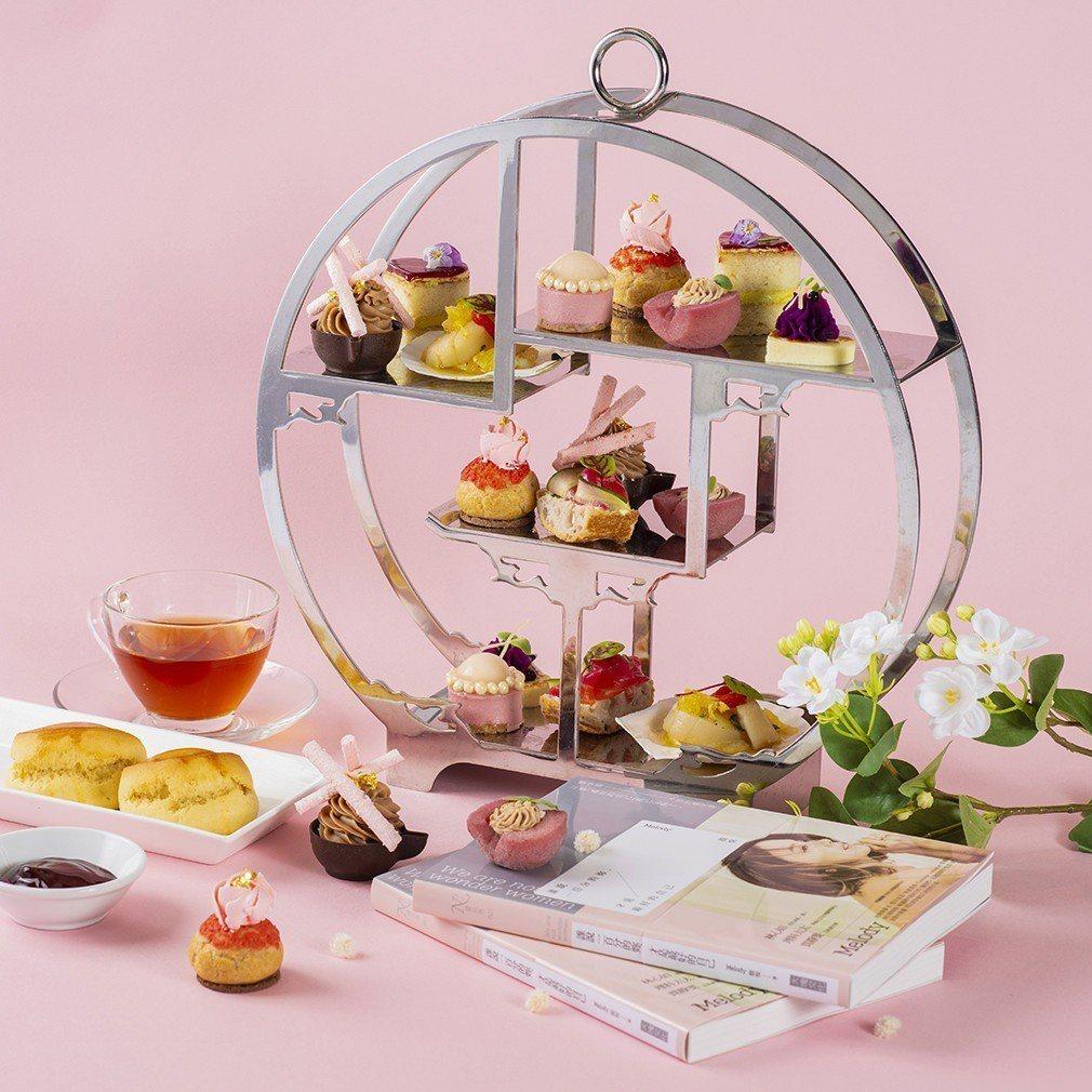 香格里拉台北遠東國際大飯店攜手時尚女神殷悅Melody打造寵愛女人下午茶。