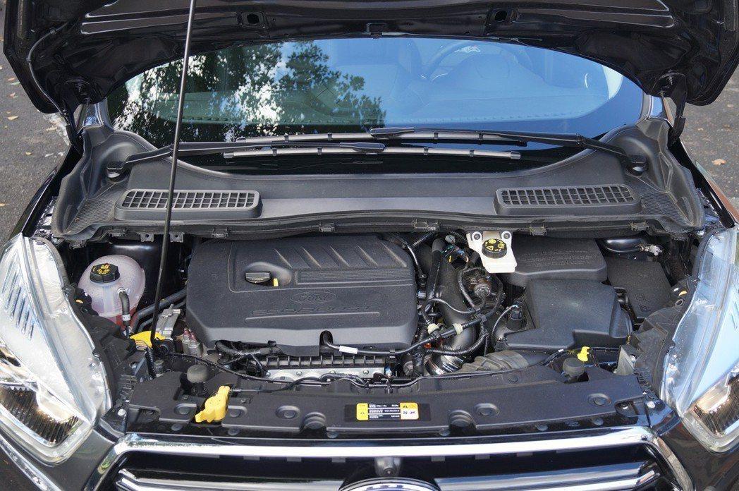 1.5升Ecoboost渦輪引擎,可輸出182匹、24.5公斤米的動力。 記者趙...