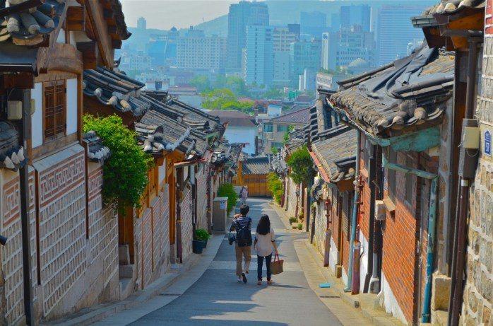 韓國三清洞。 圖/kimchibytes.com