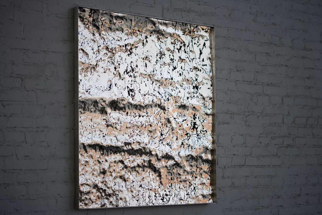 展望〈拓地2〉2015 不銹鋼 100 x 100 x 1 cm
