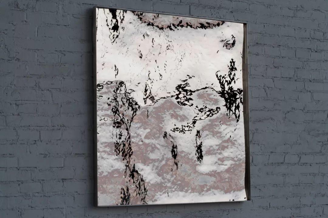 展望〈拓地1〉2015 不銹鋼 100 x 100 x 1 cm