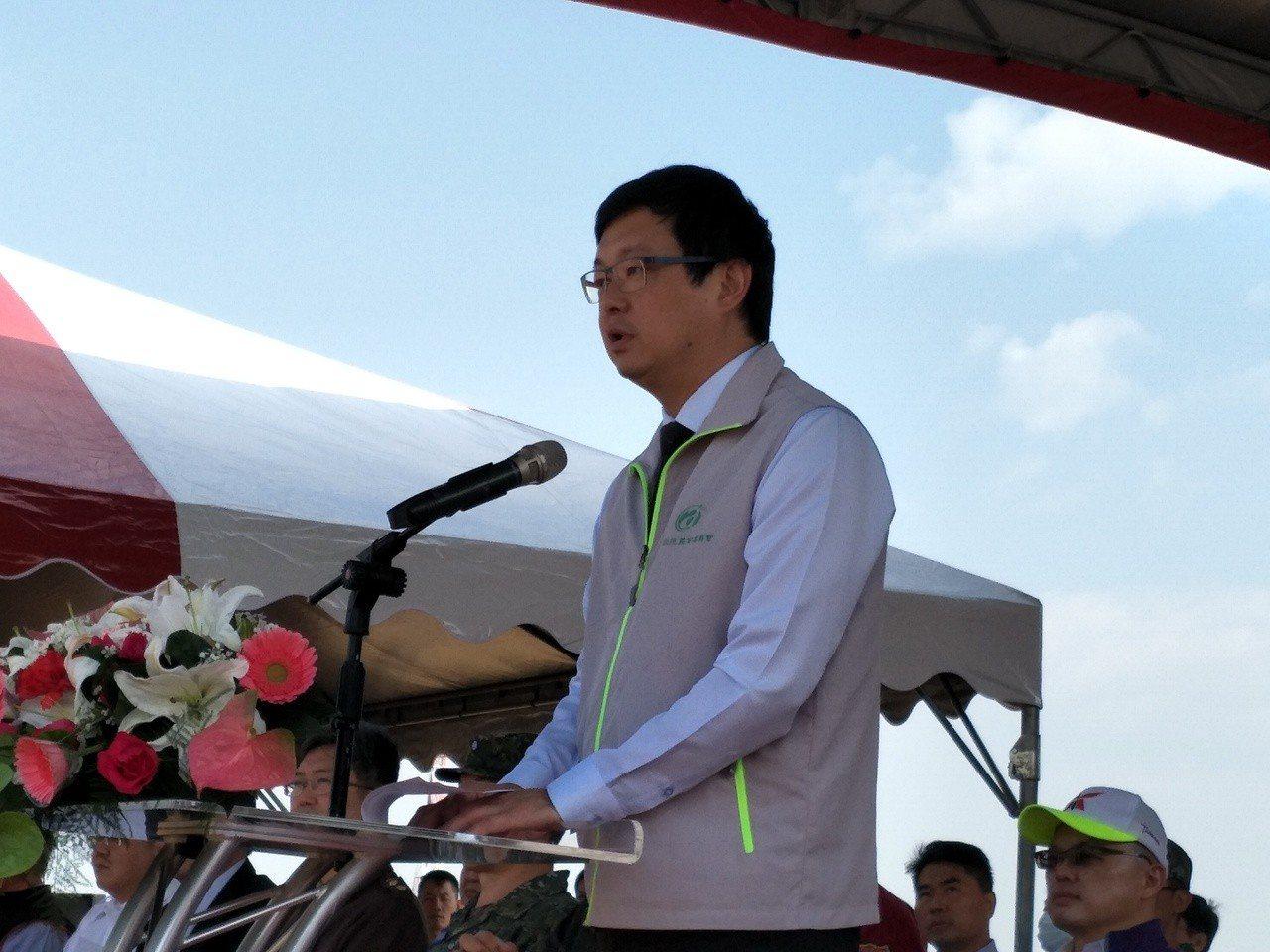 農委會副主委李退之強調,設法將疫情阻絕於境外。記者謝進盛/攝影