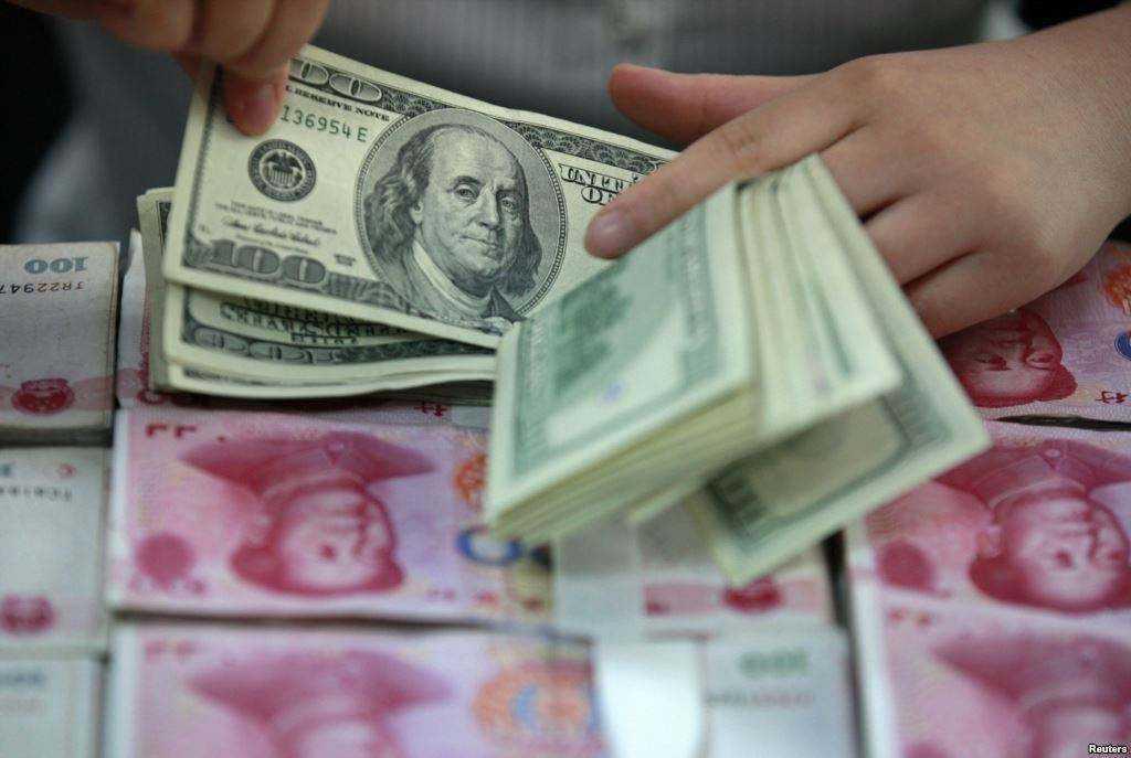 人民幣對美元匯率近來急升,大陸官媒稱,人民幣貶值最大壓力階段已經結束。(網路照片...