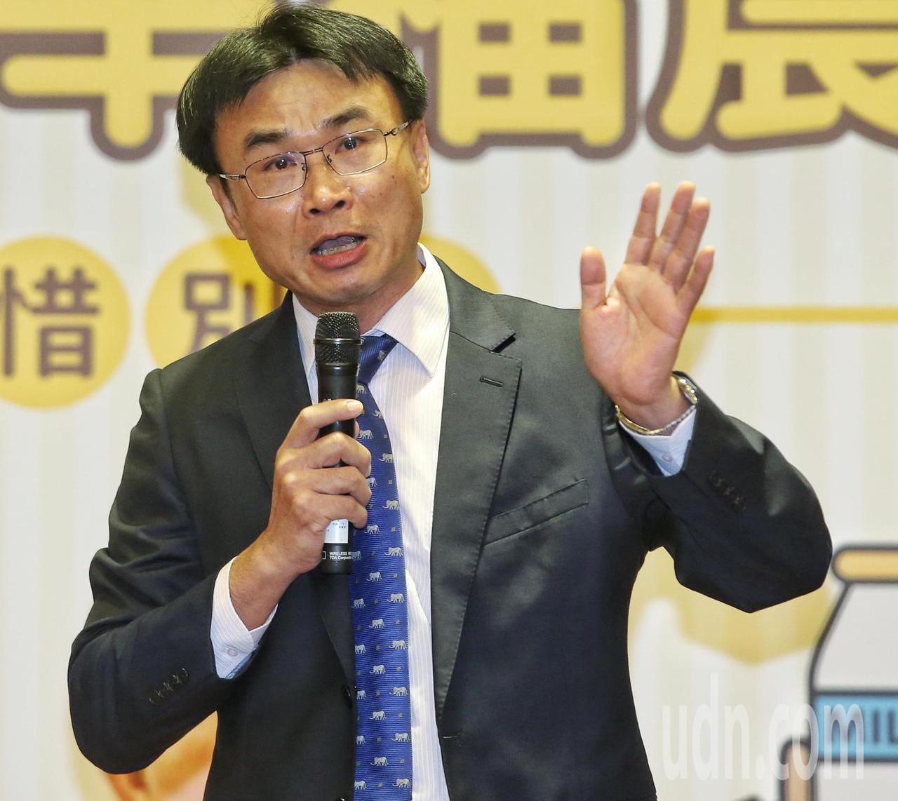 新任農委會主委陳吉仲。聯合報系資料照/記者鄭清元攝影
