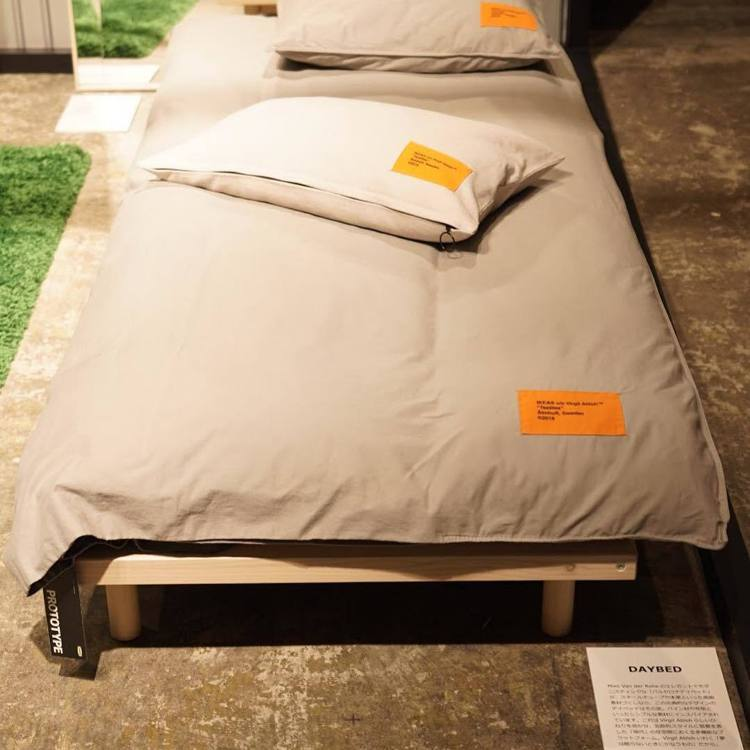OFF-WHITE X IKEA 超多人喜歡的抱枕,售價11.5~15美元,約台...