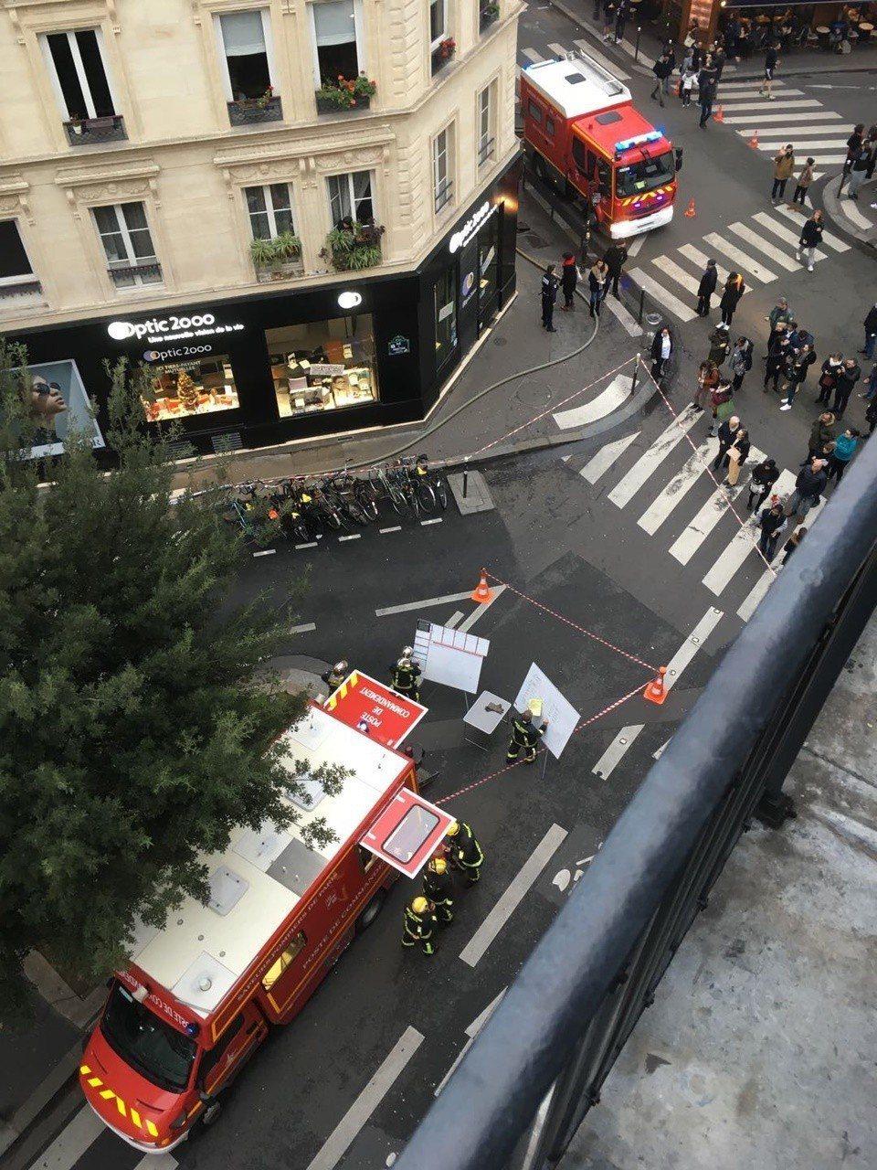 楊永聰在巴黎遇上爆炸。圖/闊思音樂提供