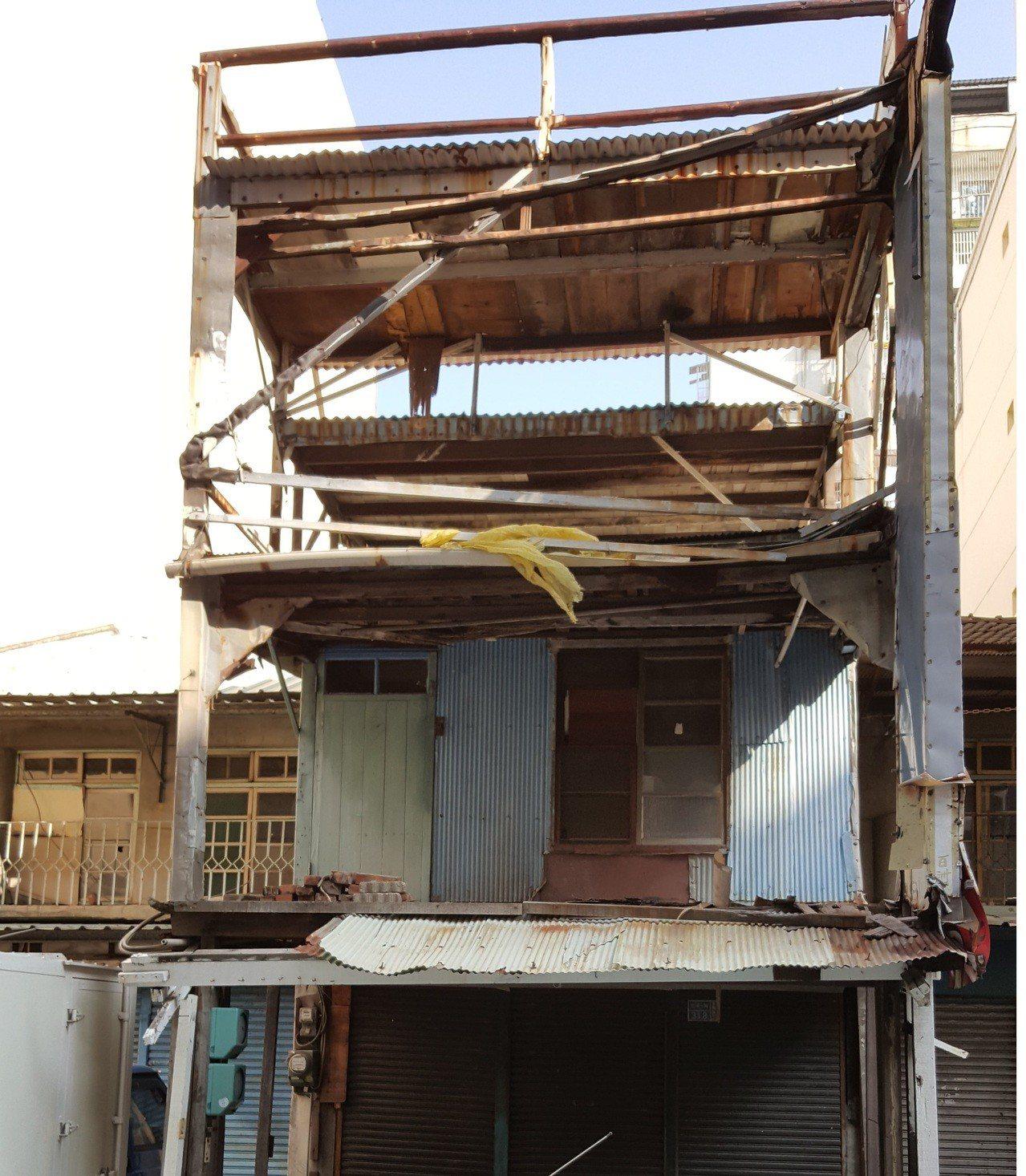 重建前建物照片。土地銀行/提供