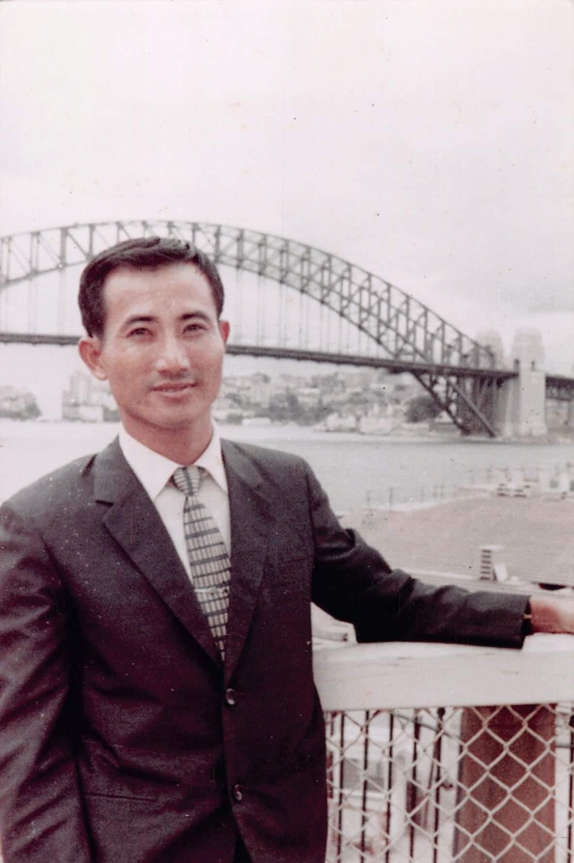 年輕時候的立法院前院長王金平。圖/翻攝台灣公道伯臉書