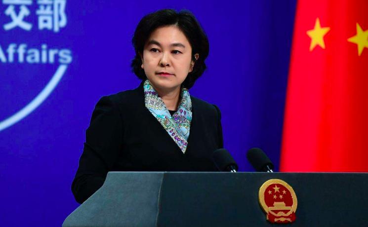 中共外交部發言人華春瑩。 圖/取自中共外交部官網